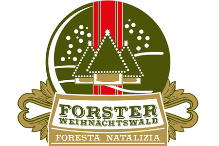 Logo Foresta natalizia transparent